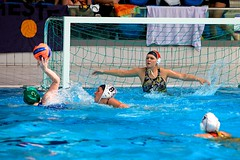 UPolo 2010  282 (nataliambaker) Tags: girls game boys pool sport youth swimming ball championship goal teams team aqua university play cardiff competition womens tournament event international mens april match trophy british uni amateur polo winners league jbl champions 2010 waterpolo universities upolo
