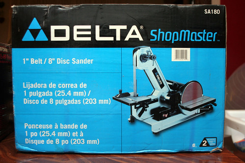 Delta 1in Belt- 8in Disc Sander SA180