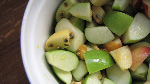 apples and passionfruit mix