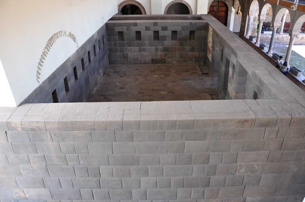 One of the original rooms of The Temple of Coricancha [Cuzco]