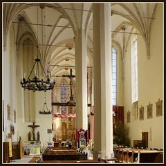 Basilica in Wislica, Poland