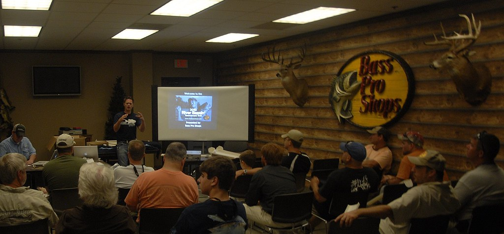 River Bassin Tournament Trail pre-tournament meeting
