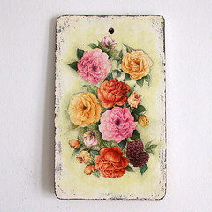 "Cutting board ""Roses"""