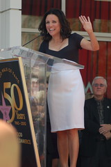 Julia Louis-Dreyfus (Sharon Graphics) Tags: star julia walk fame hollywood on the receives louisdreyfus a of