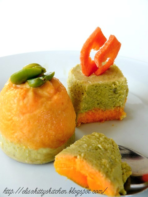 Flan fave e carote 2