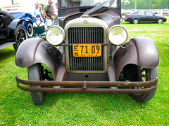 1929 Essex (Bluejacket) Tags: ny newyork essex rhinebeck carshow 1929 050210 supersix