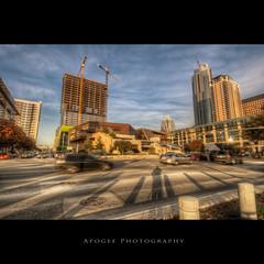 Austin City Hall (Apogee Photography) Tags: city shadow portrait car architecture austin nikon downtown texas traffic austintexas shadowportrait rushhour hdr austincityhall cityofaustin nikond5000 nikon1024mmf3545 flickrunitedaward