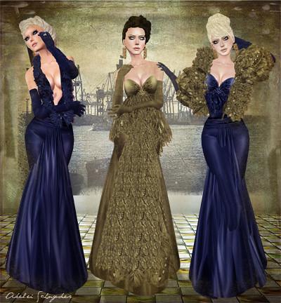 Swan Vintage & Feathers Elegance