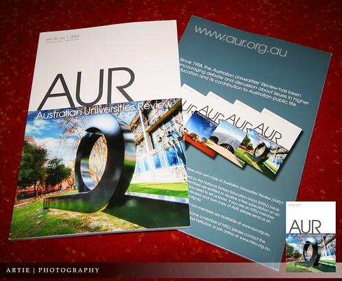 AUR Front Cover Publication