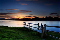 Sunset @ Kercock (angus clyne) Tags: sunset river scotland perthshire tay stile colorphotoaward