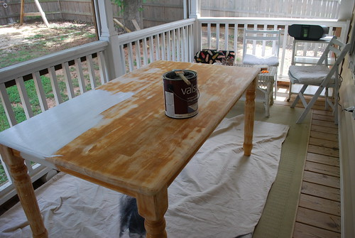 Exceptional Painting A Table