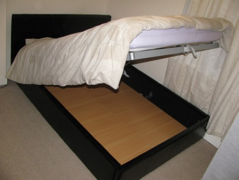 New Ottaman bed lifted