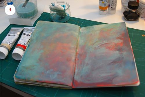 Artbook's background, Step 3
