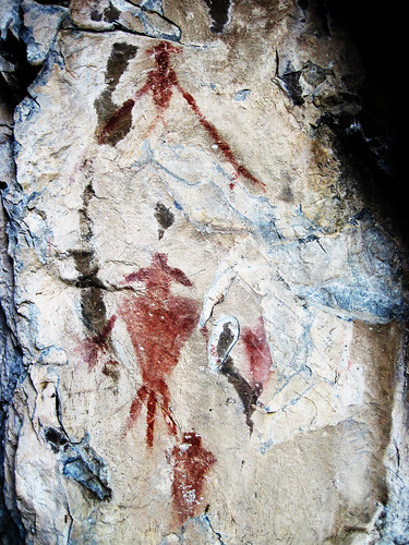 Pictographs in AF Canyon 6
