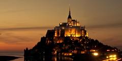 Archange (m3zcal) Tags: france saint st night brittany shot bretagne du normandie michel paysage nuit mont rennes baie