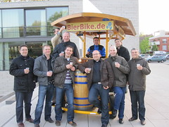 BierBike in Münster