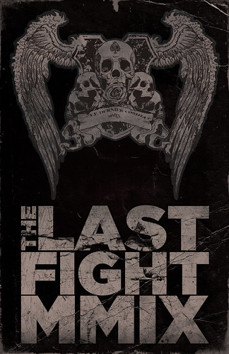 Studio Ace of Spade - Simon H. - The Last Fight poster series - Poster #1 - 11x17 inches