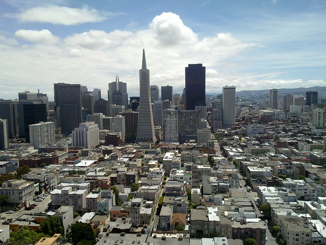 View from Coit Tower 1