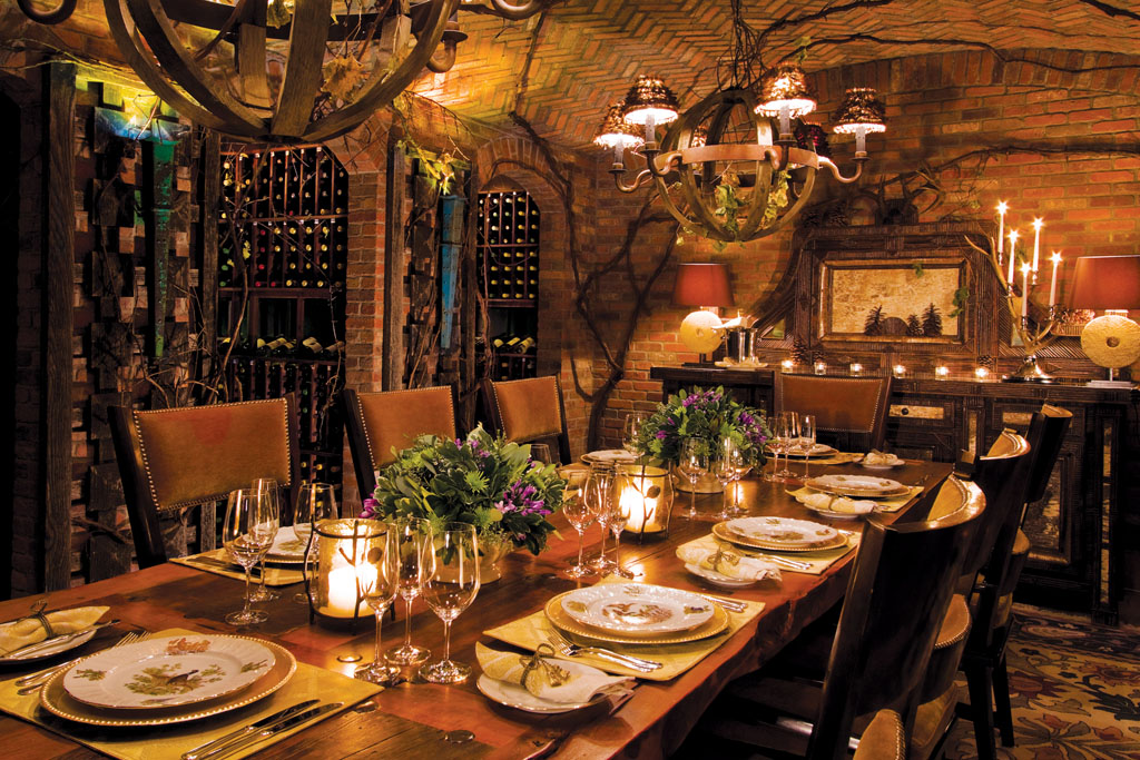 Private Dining in the Wine Cellar