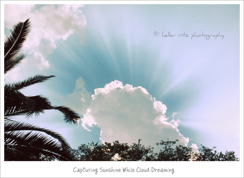 Capturing Sunshine While Cloud-Dreaming_May 20
