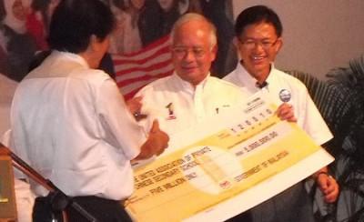 Najib election bribe