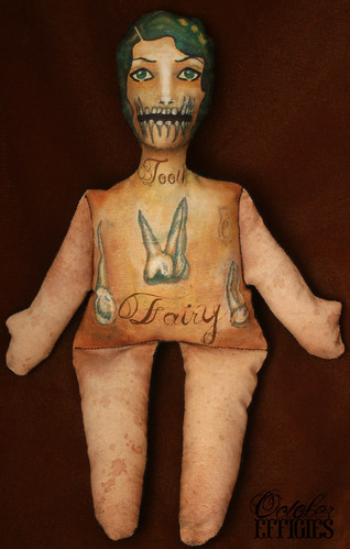 tooth fairy stuffed print doll