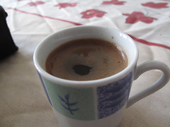 A Cup of Coffee - Home-Made Turkish Coffee, Istanbul, Turkey