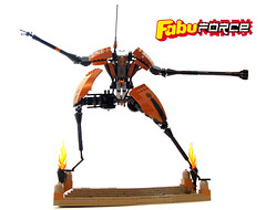 Kitsune Killer (Sir Nadroj) Tags: lego mark suit mecha mech stafford fabuland exoforce nabii fabuforce