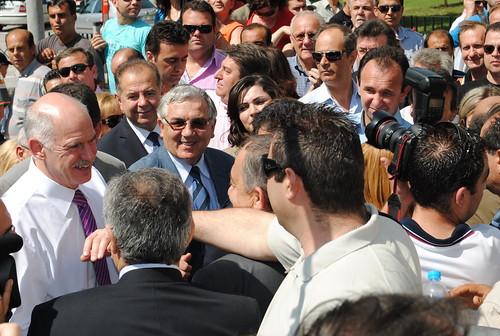 Επίσκεψη Πρωθυπουργού Γιώργου Παπανδρέου στην Κομοτηνή