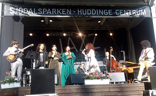 Elisabeth Kontomanou at Huddinge Jazz 2010. Photo: Andrea Gerak