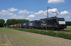 E189 090 ERS in Breyell (CargoFighter2) Tags: br neuss 189 ers br189 kijfhoek 189090 es64f4 oberhausenwest rotterdamwaalhaven e189090