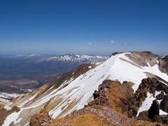 比布岳と北大雪