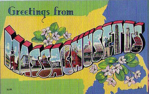 POSTCARD Massachussetts