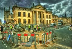HDR Oxford roadworks