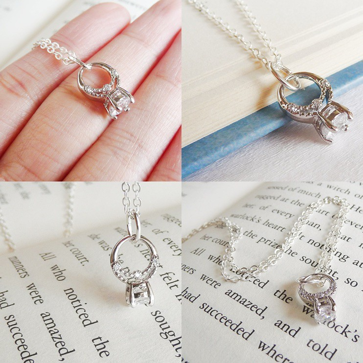promise ring necklace