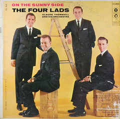 The Four Lads - On the Sunny Side (kevin dooley) Tags: music 33 album coverart cover lp record albumcover rpm albumcoverart