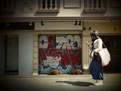 S.019 (haribote) Tags: people japan pen geotagged tokyo cityscape shibuya olympus human zuiko daikanyama ep1 shibuyaku artfilter geo:lon=139704576 geo:lat=3565027 mzuikodigital17mmf28