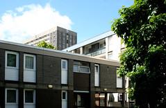 Skene Street Redevelopment, Aberdeen, Scotland (SpaceLightOrder) Tags: white architecture modernism aberdeen housing brutalism towerblock