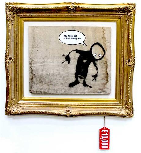 Banksy kiddingme2