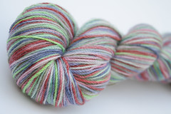 Gothic Garden on Bamboo Sock - 4oz