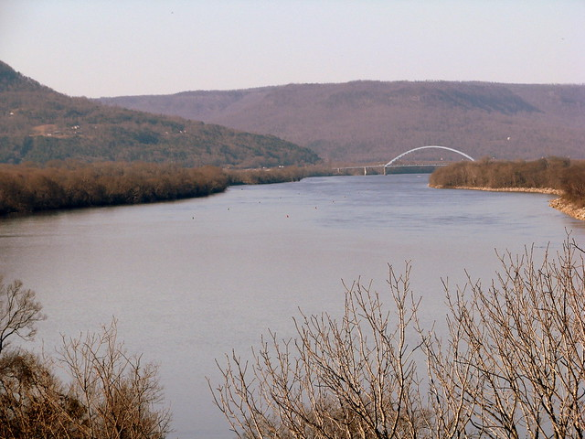Tennessee River from Battery Hill