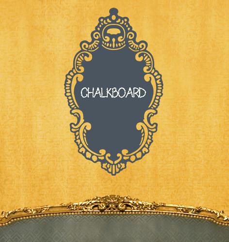 Chalkboard Stickers - Rococo