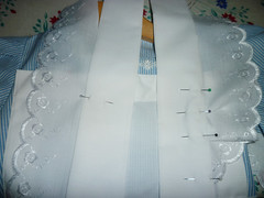 making pinny apron