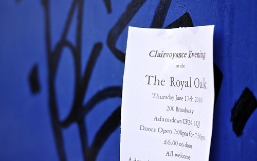 Clairvoyance Evening at The Royal Oak