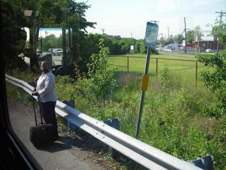 bus stop in Prince George's County (by: Cheryl Cort)