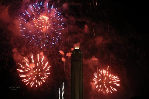 Fireworks Over Liberty Memorial