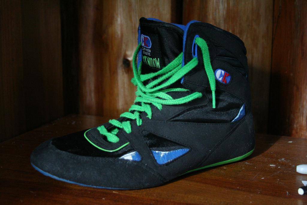 Destroyed (Nike Freek (OG)) Tags: old blue school cliff black green