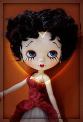 BETTY BOOP - Custom by Me (MUSSE2009) Tags: toys doll blythe custom bettyboop custombyme