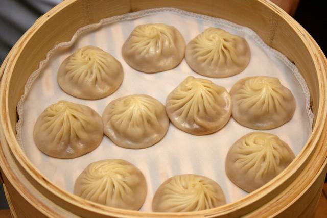 Steamed Pork Dumpling 小笼包, S$9 (10pcs) / S$6.50 (6pcs)