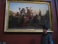 Dom et une belle peinture